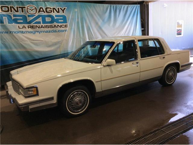 1987 Cadillac FLEETWOOD D ELEGANCE  (Stk: 18042D) in Montmagny - Image 1 of 20