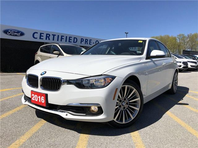 2016 BMW 320i xDrive (Stk: P8793) in Barrie - Image 1 of 23