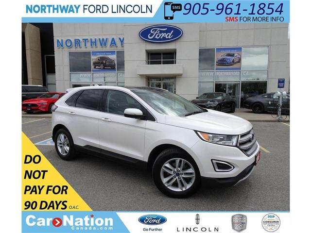 2016 Ford Edge SEL | NAV | HTD LEATHER | PANOROOF | PUSH START | (Stk: EG92879A) in Brantford - Image 1 of 46
