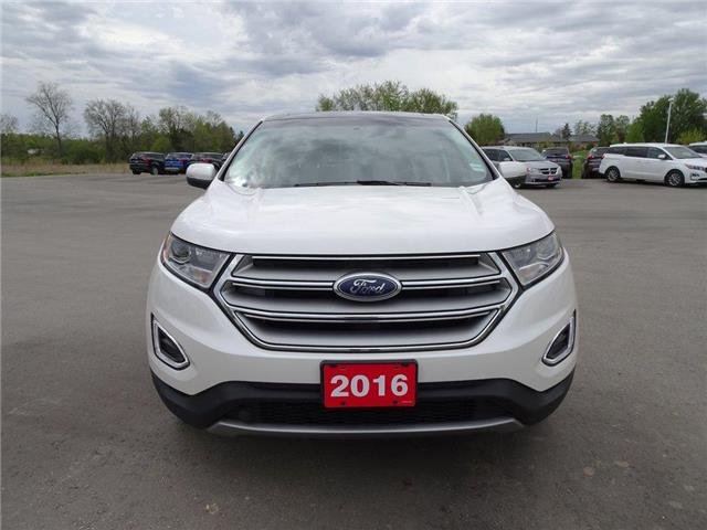 2016 Ford Edge SEL | NAV | HTD LEATHER | PANOROOF | PUSH START | (Stk: EG92879A) in Brantford - Image 2 of 46