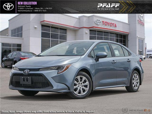 2020 Toyota Corolla 4-door Sedan LE CVT (Stk: H20021) in Orangeville - Image 1 of 24