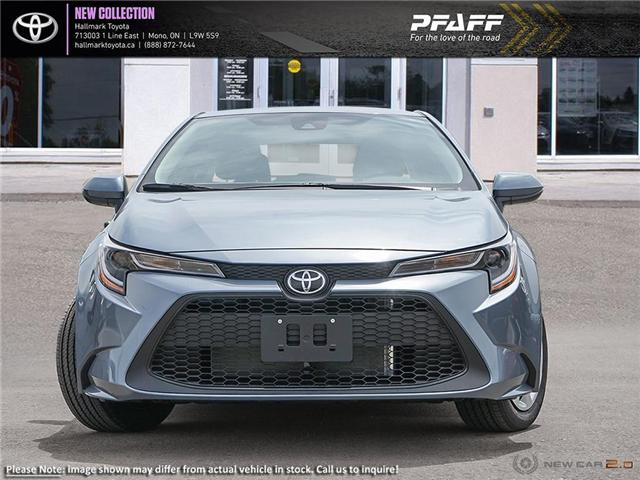 2020 Toyota Corolla 4-door Sedan LE CVT (Stk: H20021) in Orangeville - Image 2 of 24