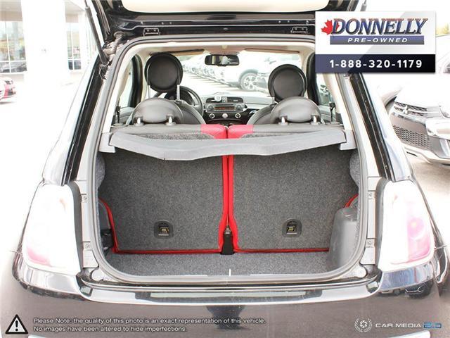 2014 Fiat 500 Lounge (Stk: PBWKS341B) in Kanata - Image 11 of 28
