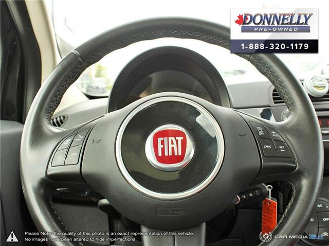 2014 Fiat 500 Lounge (Stk: PBWKS341B) in Kanata - Image 14 of 28