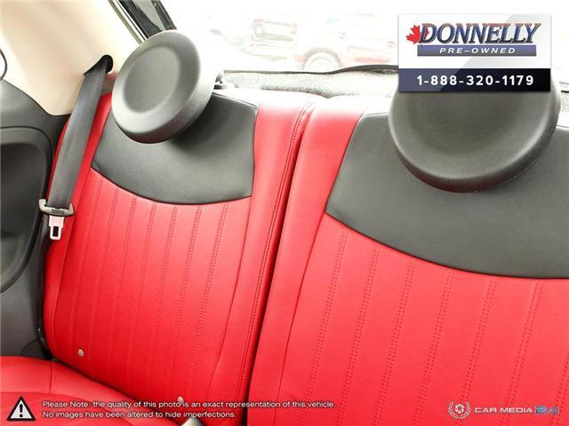 2014 Fiat 500 Lounge (Stk: PBWKS341B) in Kanata - Image 24 of 28