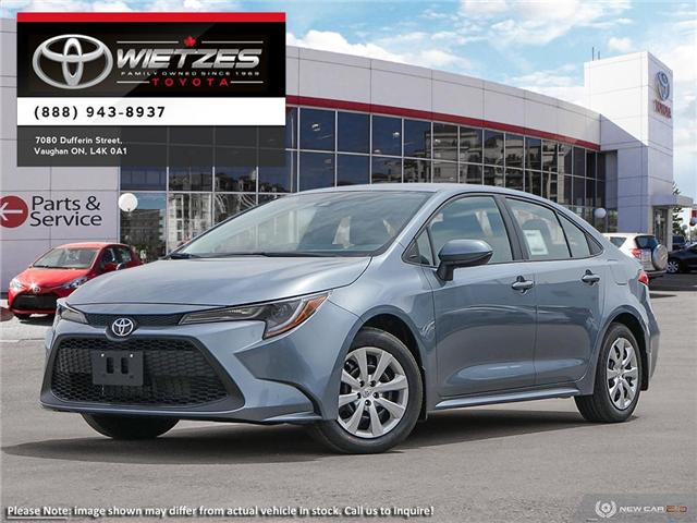 2020 Toyota Corolla LE (Stk: 68583) in Vaughan - Image 1 of 24