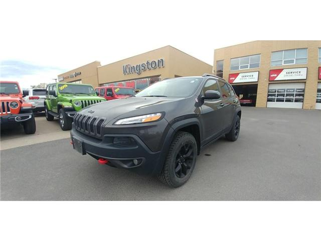 2018 Jeep Cherokee Trailhawk (Stk: 19J110A) in Kingston - Image 1 of 25