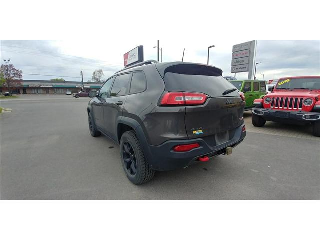 2018 Jeep Cherokee Trailhawk (Stk: 19J110A) in Kingston - Image 2 of 25