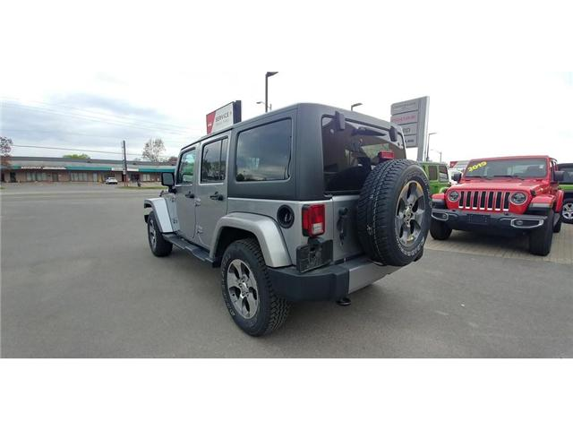 2017 Jeep Wrangler Unlimited Sahara (Stk: 19P048) in Kingston - Image 2 of 21