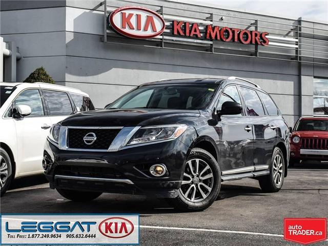 2015 Nissan Pathfinder SL (Stk: W0092) in Burlington - Image 1 of 24