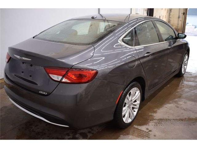 2016 Chrysler 200 LIMITED  - NAV * HEATED SEATS * BACKUP CAM (Stk: B3465) in Cornwall - Image 3 of 30