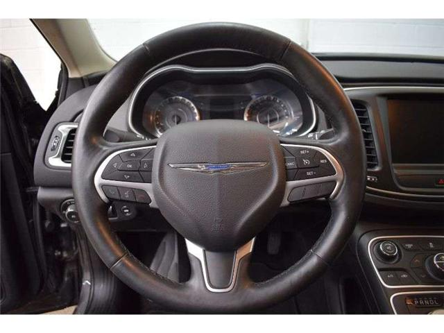 2016 Chrysler 200 LIMITED  - NAV * HEATED SEATS * BACKUP CAM (Stk: B3465) in Cornwall - Image 13 of 30