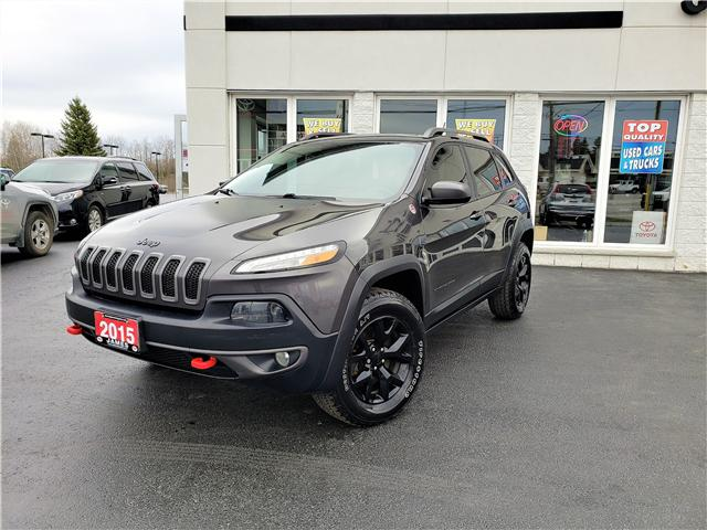 2015 Jeep Cherokee Trailhawk (Stk: N19183A) in Timmins - Image 1 of 9
