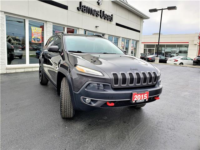 2015 Jeep Cherokee Trailhawk (Stk: N19183A) in Timmins - Image 2 of 9