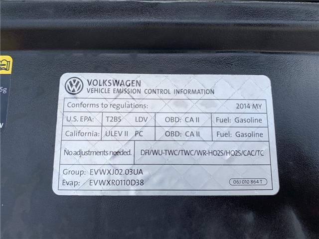 2014 Volkswagen Eos Highline (Stk: EV002870T) in Sarnia - Image 21 of 21