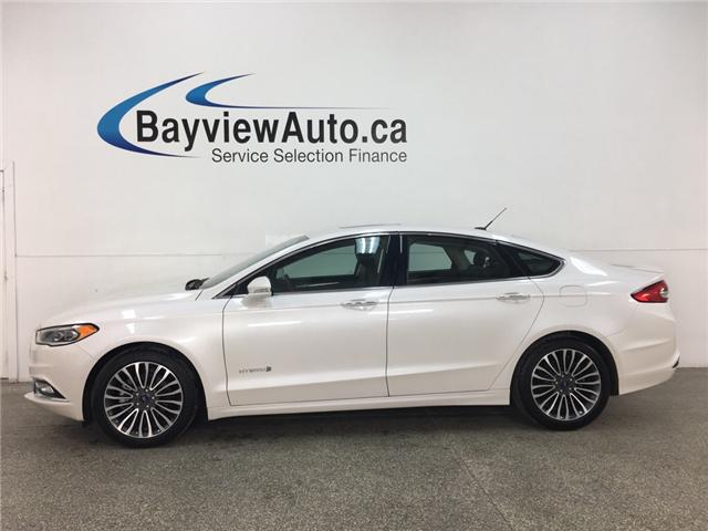 2018 Ford Fusion Hybrid Titanium (Stk: 35013R) in Belleville - Image 1 of 29