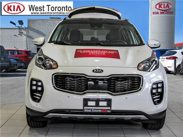 2018 Kia Sportage SX Turbo (Stk: T19338) in Toronto - Image 2 of 25