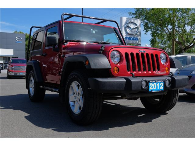 2012 Jeep Wrangler Sport (Stk: 568465A) in Victoria - Image 1 of 19