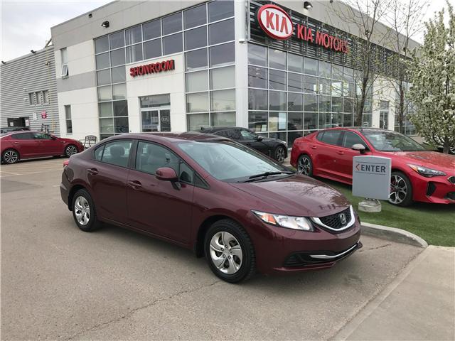 2013 Honda Civic LX (Stk: 21393A) in Edmonton - Image 1 of 19