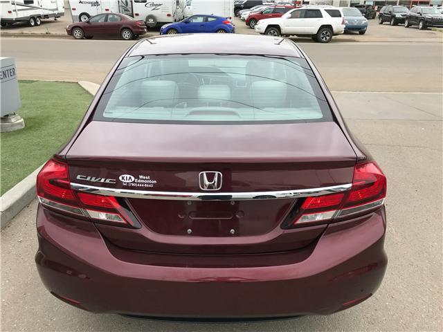 2013 Honda Civic LX (Stk: 21393A) in Edmonton - Image 7 of 19