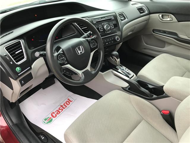 2013 Honda Civic LX (Stk: 21393A) in Edmonton - Image 10 of 19
