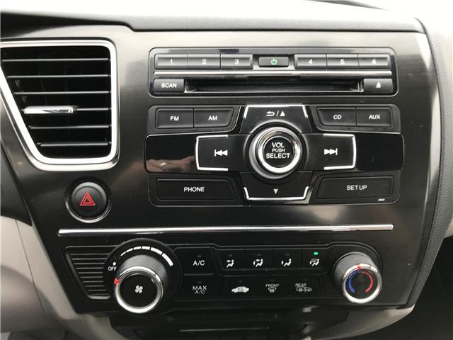 2013 Honda Civic LX (Stk: 21393A) in Edmonton - Image 15 of 19