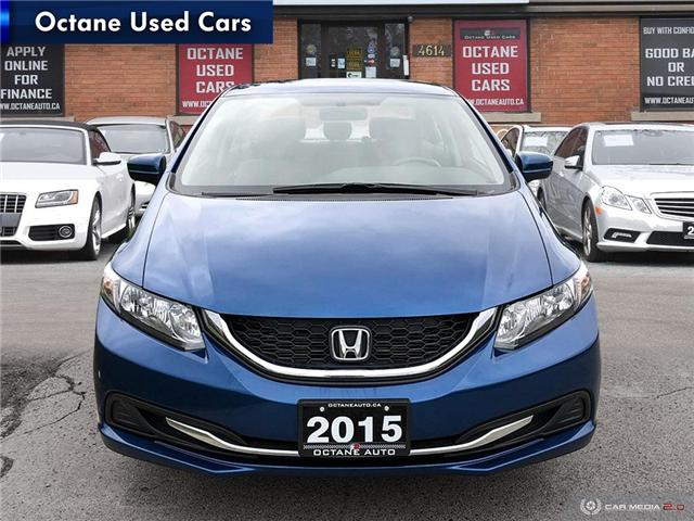 2015 Honda Civic LX (Stk: ) in Scarborough - Image 2 of 25