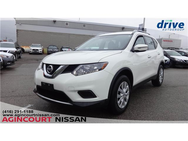 2016 Nissan Rogue S (Stk: U12522) in Scarborough - Image 1 of 18