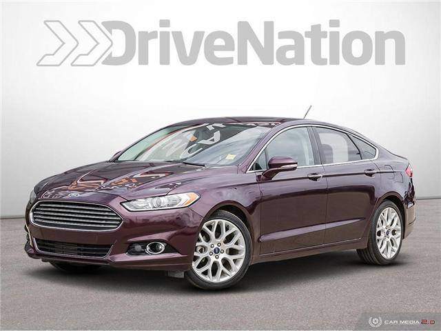 2013 Ford Fusion Titanium (Stk: WE009) in Edmonton - Image 1 of 27