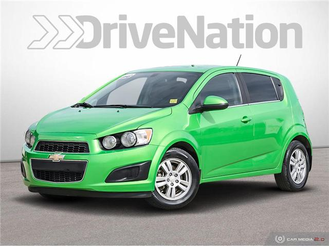 2015 Chevrolet Sonic LT Auto (Stk: WE143A) in Edmonton - Image 1 of 27