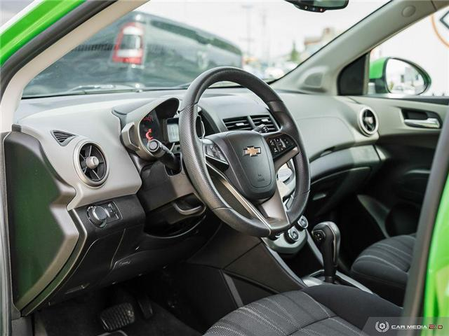 2015 Chevrolet Sonic LT Auto (Stk: WE143A) in Edmonton - Image 13 of 27