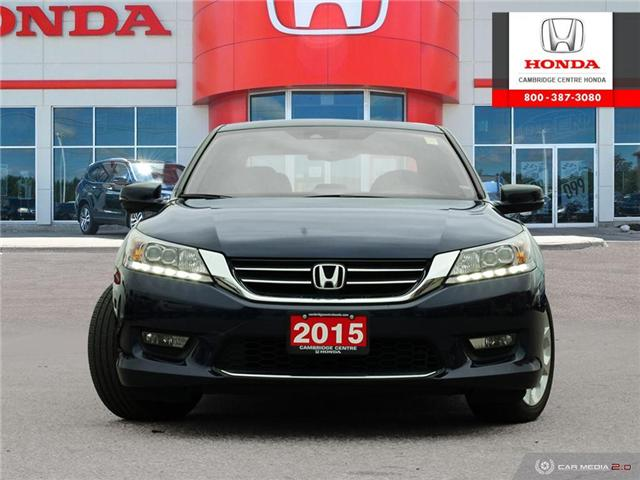 2015 Honda Accord Touring (Stk: 19416A) in Cambridge - Image 2 of 27