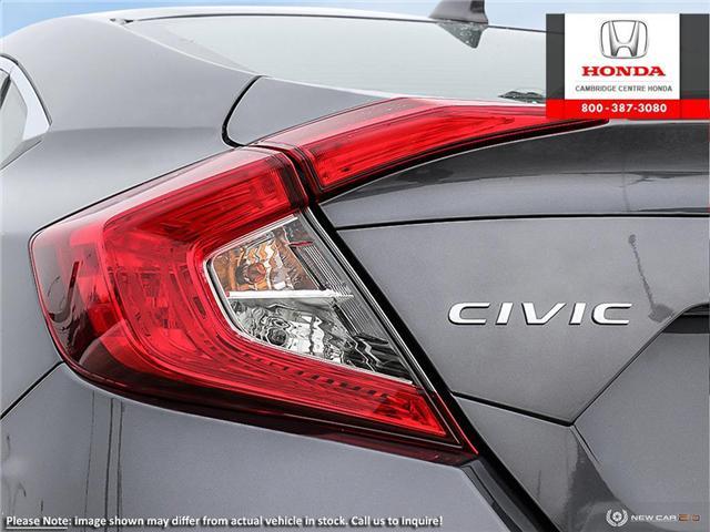 2019 Honda Civic Touring (Stk: 19853) in Cambridge - Image 11 of 24