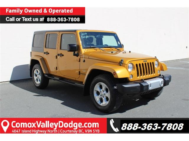 2014 Jeep Wrangler Unlimited Sahara (Stk: D361896A) in Courtenay - Image 1 of 30