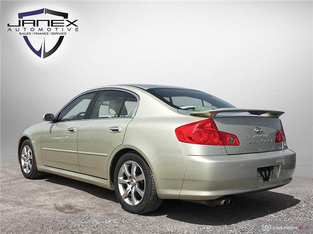 2005 Infiniti G35 Base (Stk: 19165) in Ottawa - Image 4 of 24