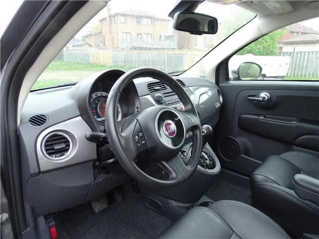 2012 Fiat 500 Lounge (Stk: ) in Oshawa - Image 9 of 12
