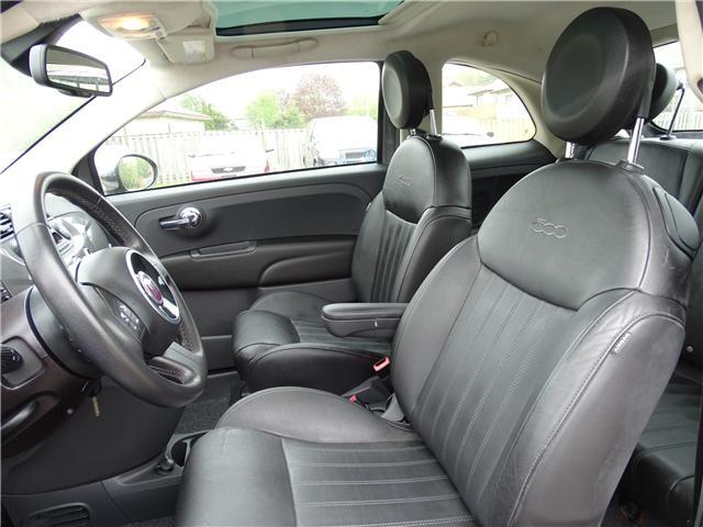 2012 Fiat 500 Lounge (Stk: ) in Oshawa - Image 11 of 12