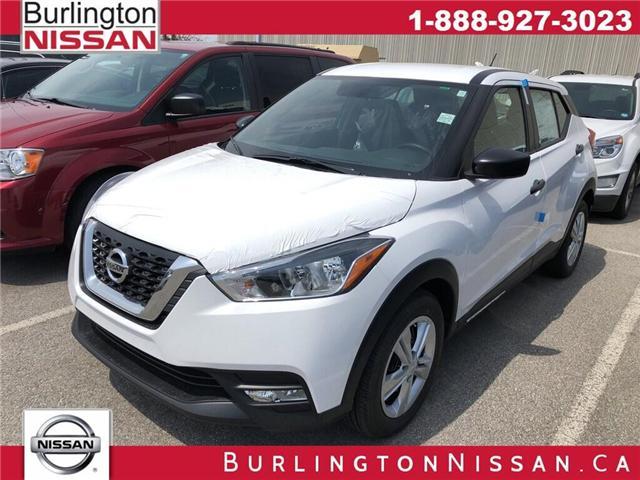 2019 Nissan Kicks S (Stk: Y1167) in Burlington - Image 1 of 5