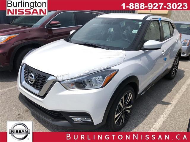 2019 Nissan Kicks SV (Stk: Y1165) in Burlington - Image 1 of 5