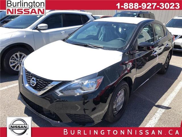 2019 Nissan Sentra 1.8 S (Stk: Y6024) in Burlington - Image 1 of 5