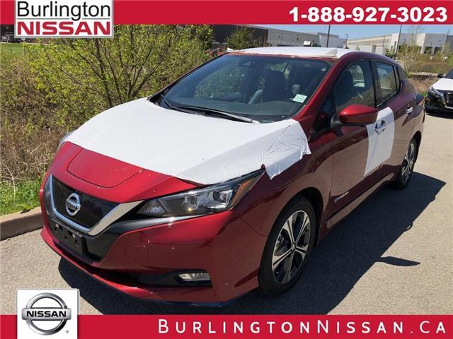 2019 Nissan LEAF S (Stk: Y7008) in Burlington - Image 1 of 6