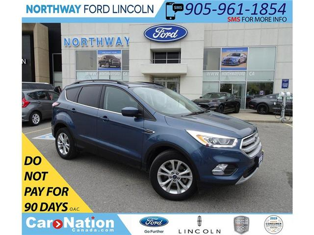 2018 Ford Escape SEL | AWD | NAV | HTD LEATHER | PANO ROOF | (Stk: F189860A) in Brantford - Image 1 of 41