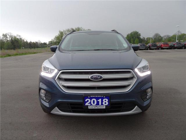 2018 Ford Escape SEL | AWD | NAV | HTD LEATHER | PANO ROOF | (Stk: F189860A) in Brantford - Image 2 of 41