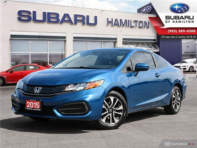 2015 Honda Civic EX (Stk: S7657A) in Hamilton - Image 1 of 27