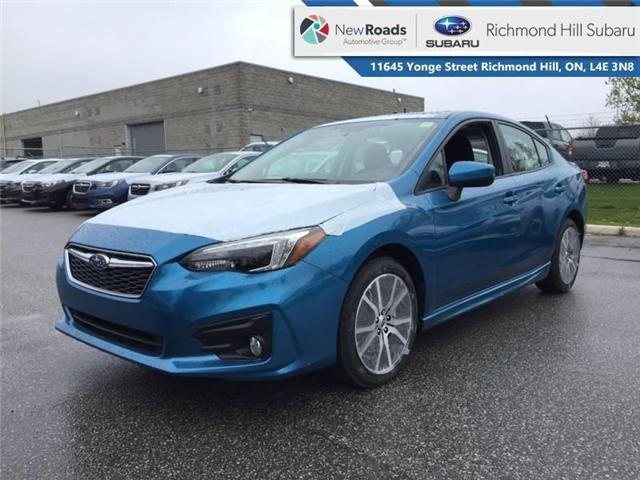 2019 Subaru Impreza 4-dr Sport Eyesight AT (Stk: 32634) in RICHMOND HILL - Image 1 of 19