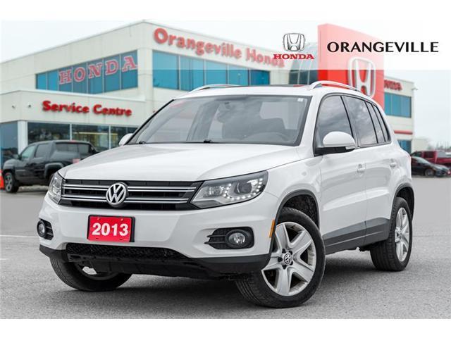 2013 Volkswagen Tiguan 2.0 TSI Comfortline (Stk: V19191A) in Orangeville - Image 1 of 18