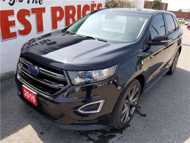 2016 Ford Edge Sport (Stk: 19-324) in Oshawa - Image 1 of 15