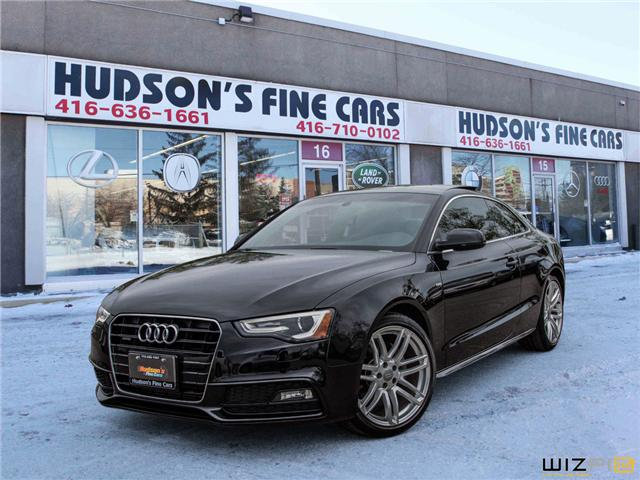 2015 Audi A5 2.0T Progressiv (Stk: 17443) in Toronto - Image 1 of 28