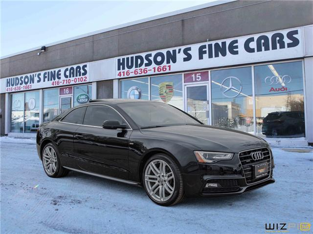 2015 Audi A5 2.0T Progressiv (Stk: 17443) in Toronto - Image 2 of 28