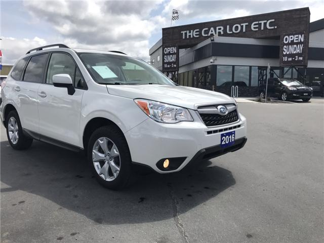 2016 Subaru Forester 2.5i Limited Package (Stk: 19314) in Sudbury - Image 2 of 13